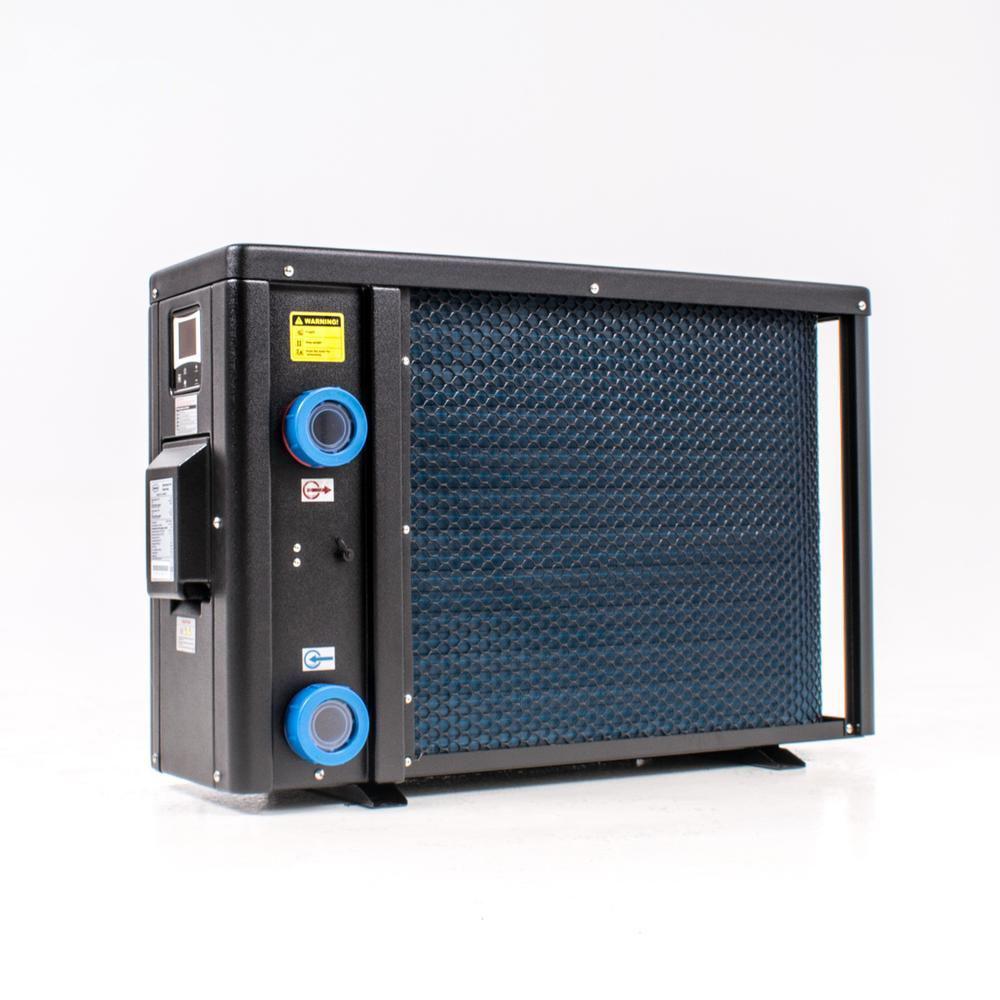 Welldana Heat pump FPH Inverter-Plus Solbadet bagside af varmepumpe