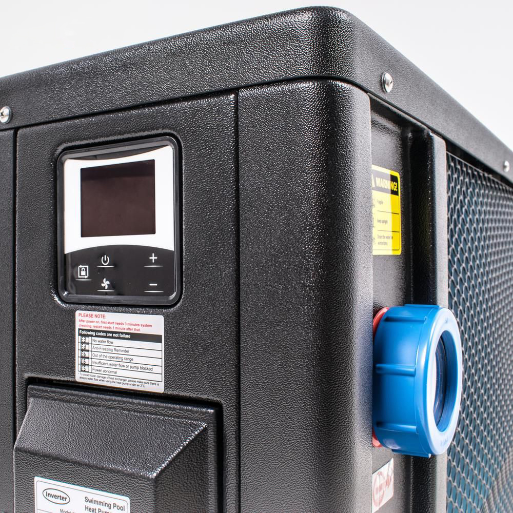 Welldana Heat pump FPH Inverter-Plus stik varmepumpe solbadet