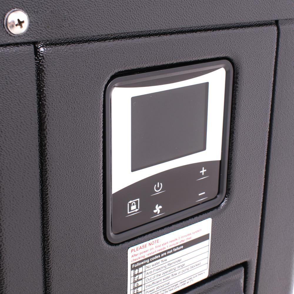 Welldana Heat pump FPH Inverter-Plus panel solbadet