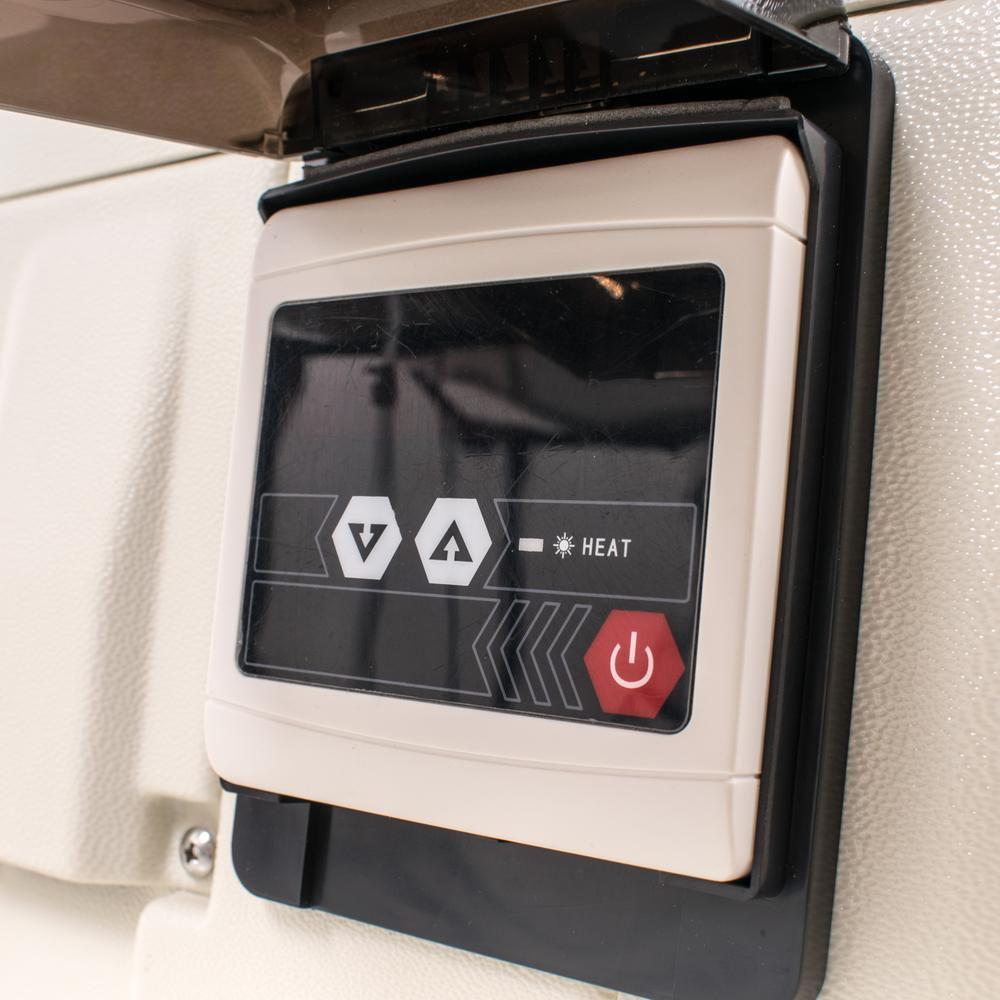 Welldana Heat pump FPH panel Solbadet