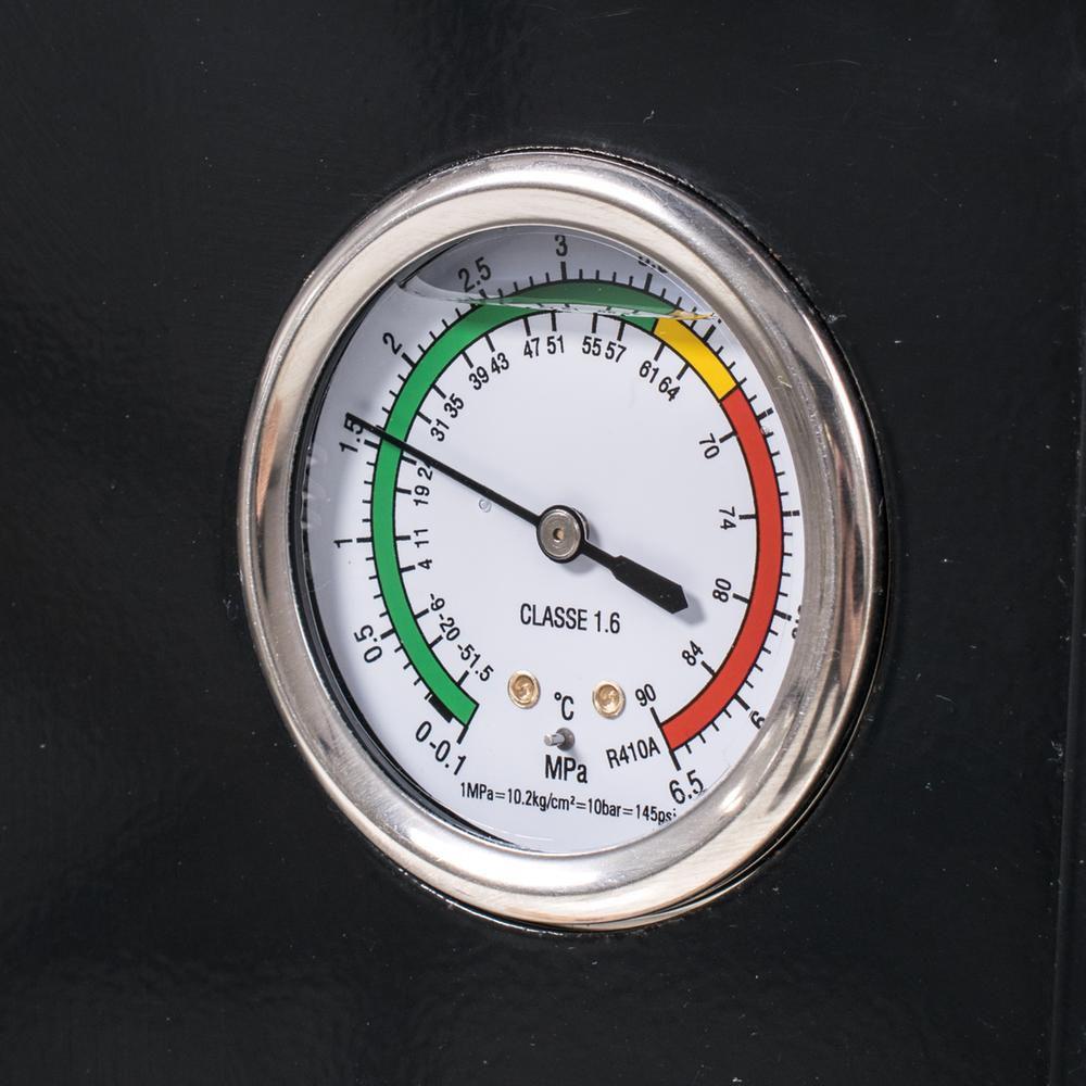 Welldana Heat pump WMV måler solbadet