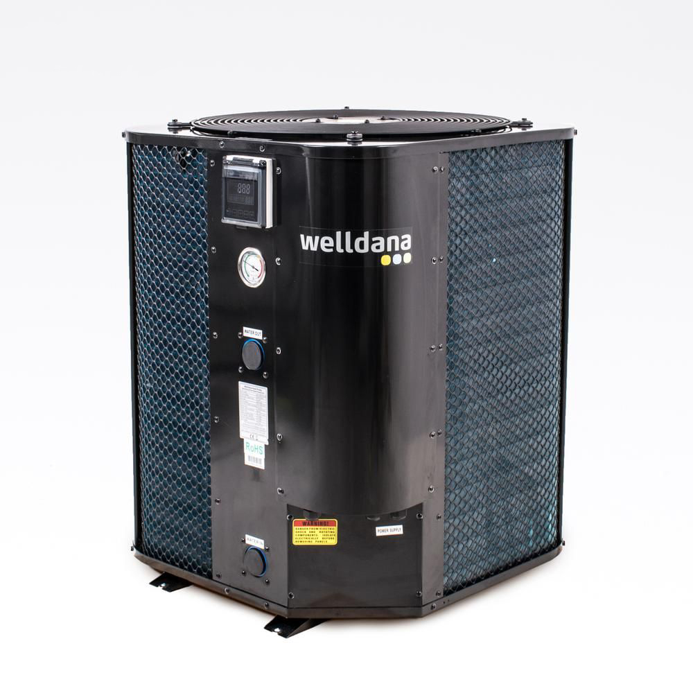 Welldana Heat pump WMV solbadet varmepumpe