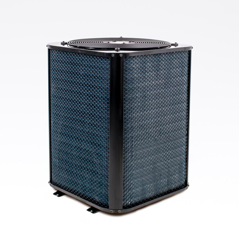 Welldana Heat pump WMV varmepumpe bagside solbadet