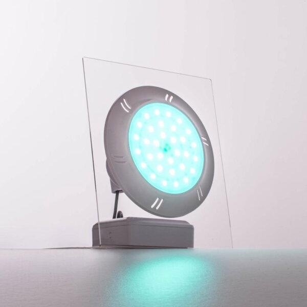 Adagio Pro flat poollamper blå lys