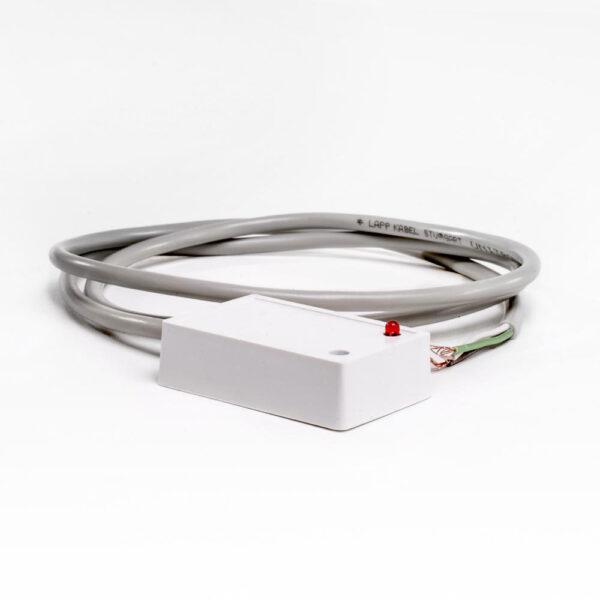 Niveausensor. 5-25V. 1m. Hvid/white/Weiss. T4 styring. solbadet