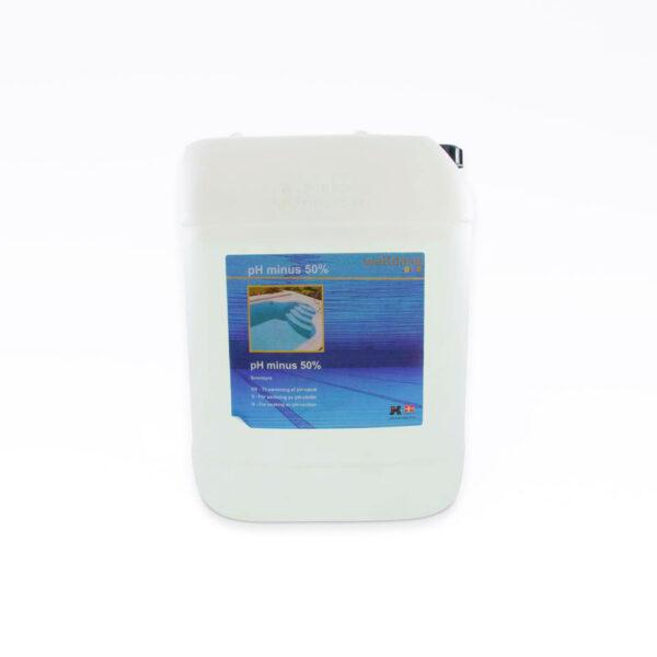 pH Minus Flydende. 25 kg solbadet