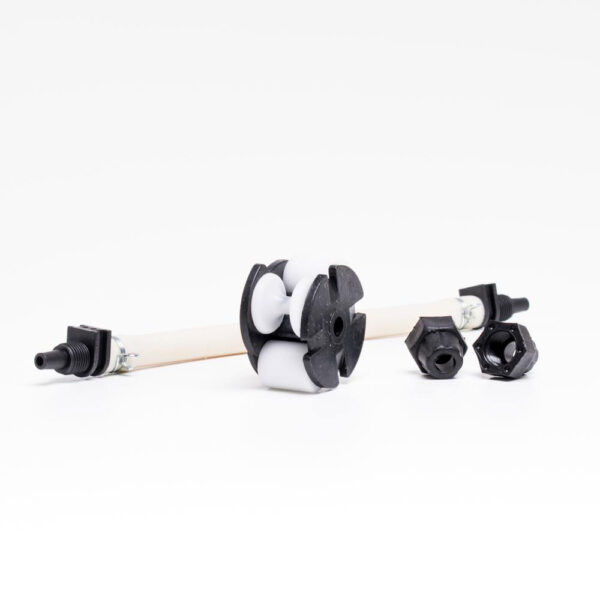 Rep. sæt t/ peristaltisk pumpe (slange+drivhjul), 1 + 3 ltr solbadet