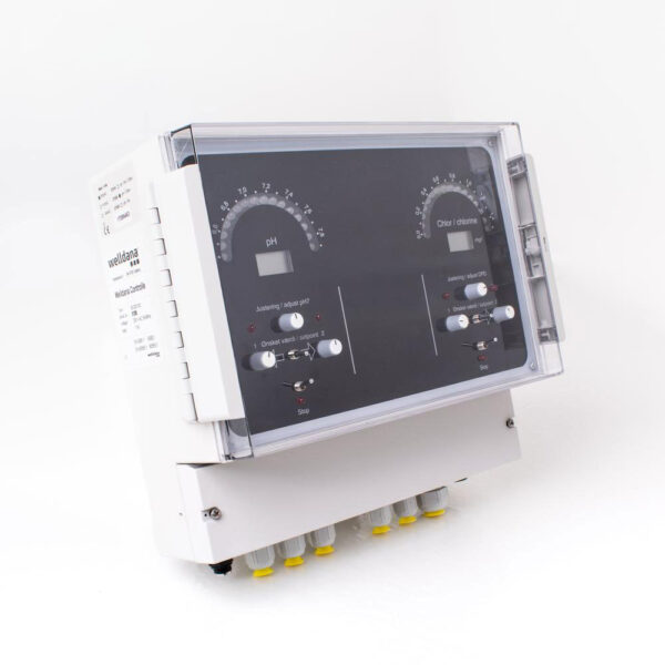 Welldana® Kemikontrol pH/CL, digital solbadet