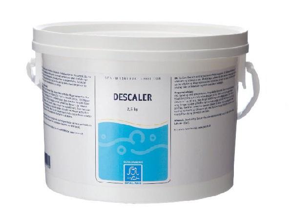 Descaler afkalkningspulver 2,5 kg til afkalkning af spa og indvendig rør