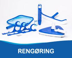 rengøring af pool udstyr
