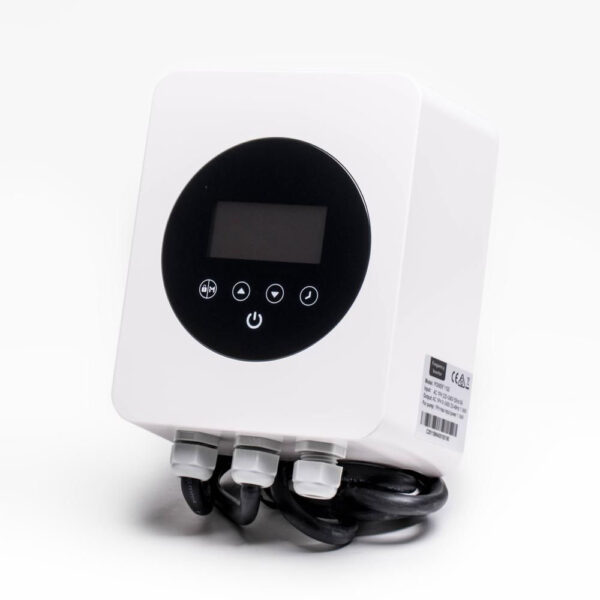 I-Saver+1100 Frekvensomformer op til 1,1 kwh solbadet
