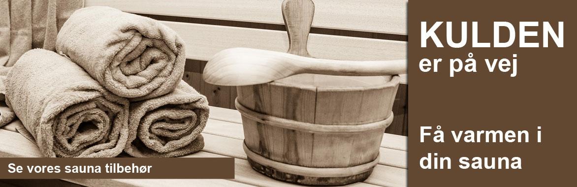 sauna tilbehør