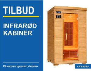 tilbud på infrarød kabiner