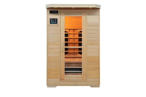 Infrarød kabine Ivar 2 Full-Spektra, indendørs 2 pers. infrared sauna
