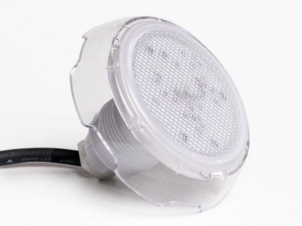 LED Mini lampe 12 led hvid
