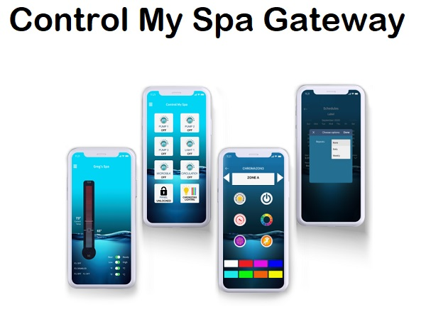 Balboa Control My Spa Gateway