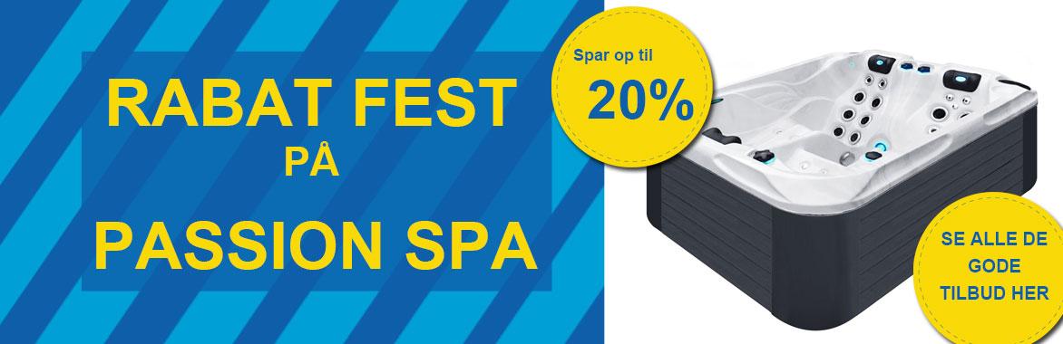 Passion spa fest på solbadet - Spar op til 20 %